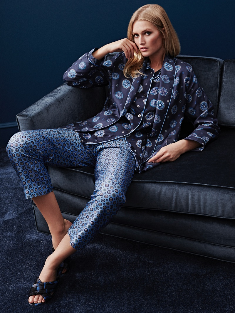 Toni Garrn For Zara Home 2016 10