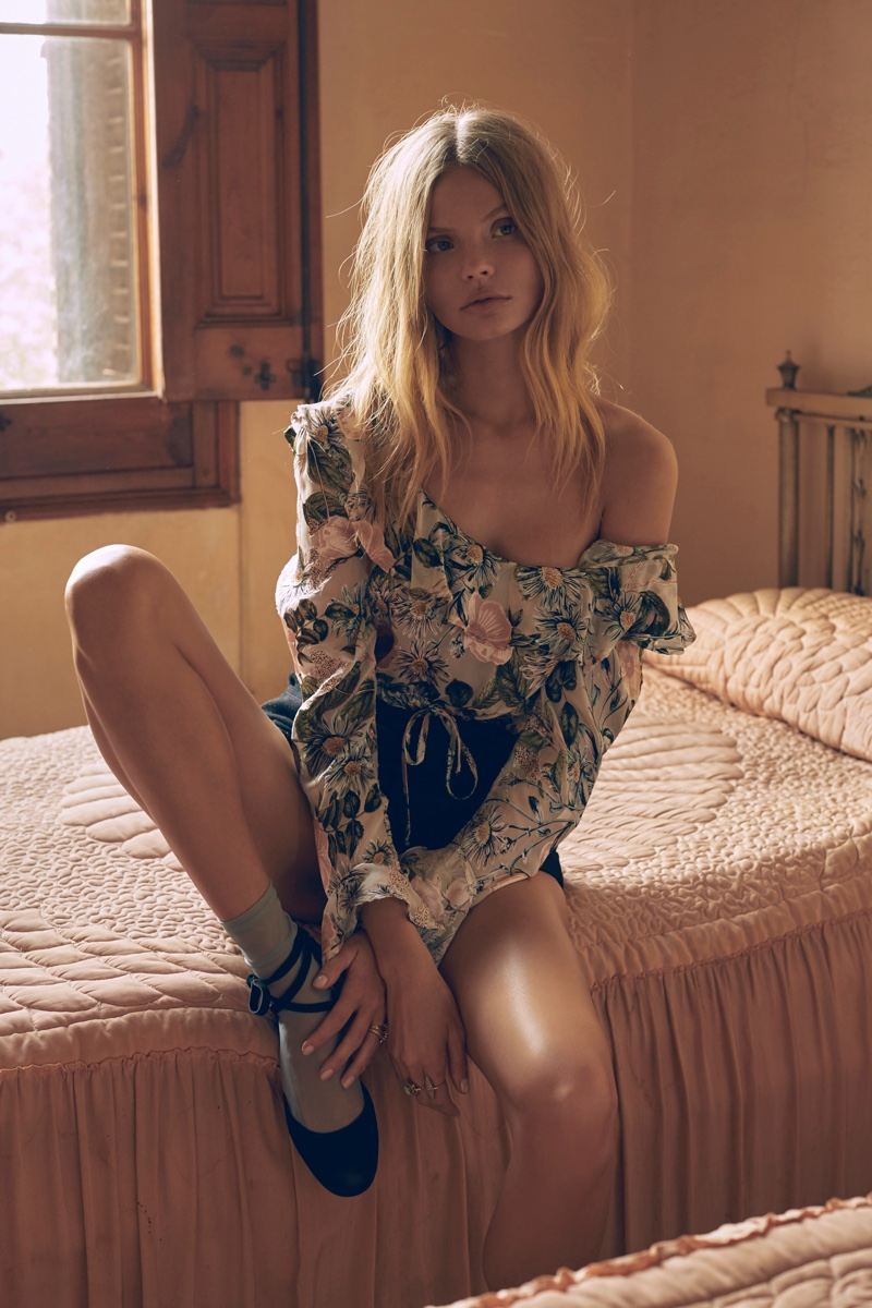 Magdalena Frackowiak Poses For Love & Lemons 2017 06